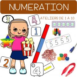 Ateliers Autonomes (AIM) Numération de 1 à 10