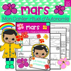 Mon Cahier d'Autonomie Mars Grande Section
