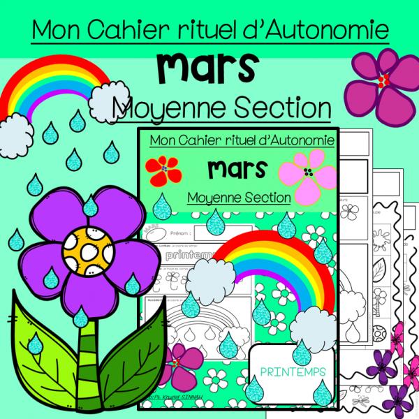 Cahier d'Autonomie Moyenne Section MARS
