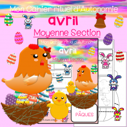 Cahier d'Autonomie Moyenne Section AVRIL