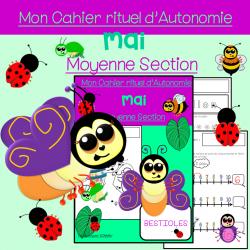 Cahier d'Autonomie Moyenne Section MAI