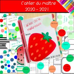 cahiers du  maître rentrée 2020-21