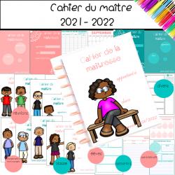 cahier des maîtresses et des maîtres 2021-2022
