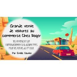 Grande vente de voitures au commerce Chez Roger