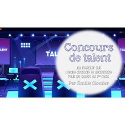 Le concours de talent