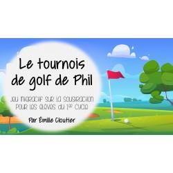 Le tournois de golf de Phil