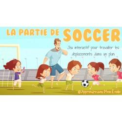 La partie de soccer
