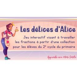 Les délices d'Alice - 2e cycle