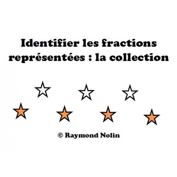 Identifier les fractions d'une collection