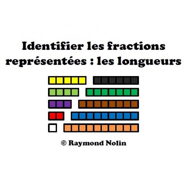 Identifier les fractions de longueur