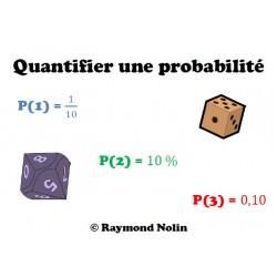 Quantifier une probabilité