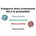 Comparer deux événements (probabilité)