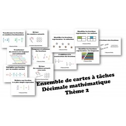 Cartes à tache Décimale6-Thème2