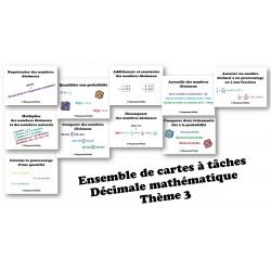 Cartes à tâche Décimale6-Thème3