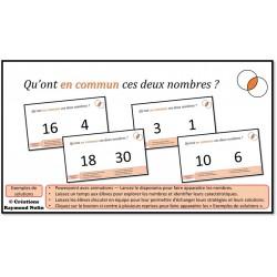50 discussions sur les nombres naturels