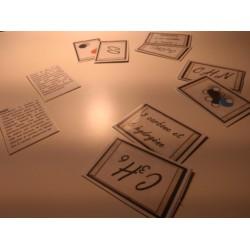 jeu de cartes mêmolécules