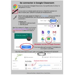 Se connecter à Google Classroom 2019