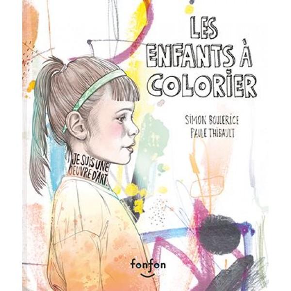 5 @ 7 Les enfants à colorier