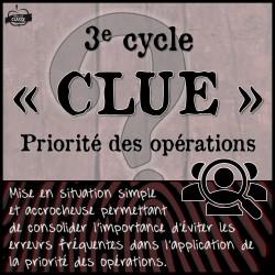 """Priorité des opérations - """"Clue"""""""