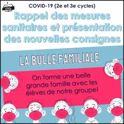 Présentation COVID-19 (2e et 3e cycles)