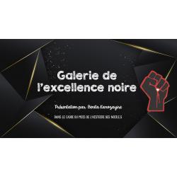 Présentation - Galerie de l'excellence noire