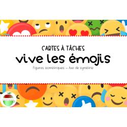 Vive les emojis (Symétrie, Axe de réflexion)