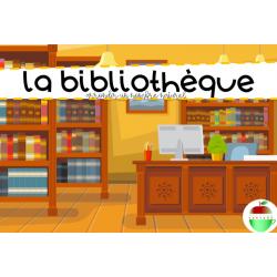La bibliothèque (Arrondir)