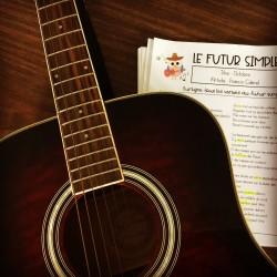 Futur simple - La grammaire en chansons
