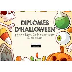 Diplômes d'Halloween