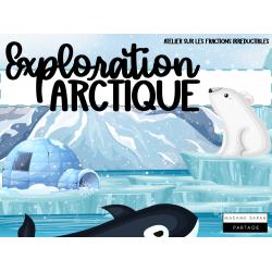 Exploration Arctique (Fractions irréductibles)