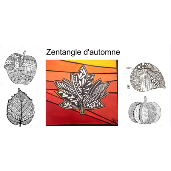 Zentangle d'automne