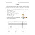 Document de passe-temps 3e cycle