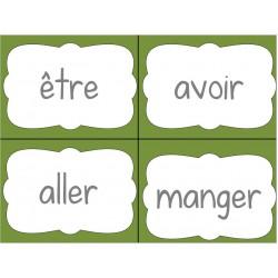 Cartes verbes