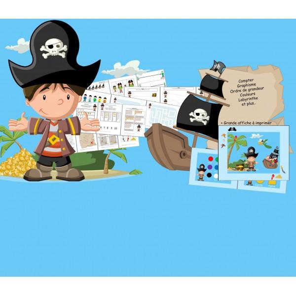Fiches d'activités: Les pirates