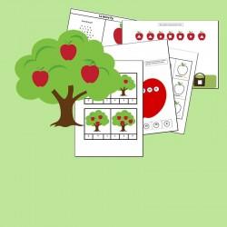 Fiches d'activités: Les pommes