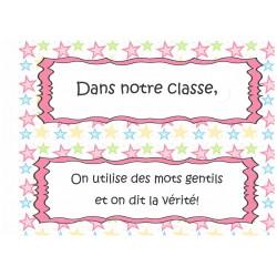 Gestion classe, code d'honneur par Syfon-fon-fon