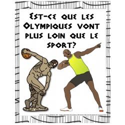 Enquête: Les Olympiques