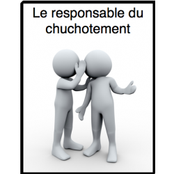Le responsable du chuchotement