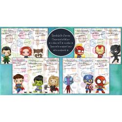 Signets fin d'année Marvel