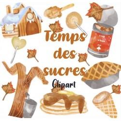 Clipart Temps des sucres