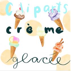 Clipart Crème glacée