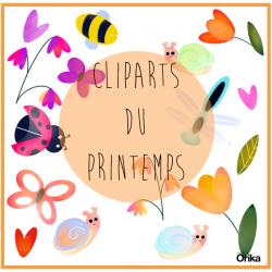 Cliparts du printemps