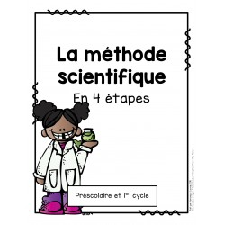 La méthode scientifique en 4 étapes
