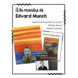 À la manière d'Edvard Munch