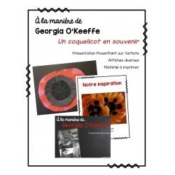 À la manière de Georgia O'Keeffe