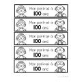 Le jour 100 à la maternelle