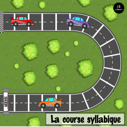 La course syllabique