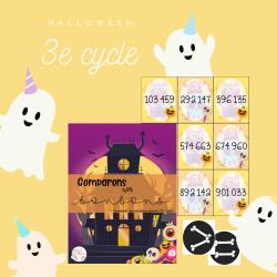 Comparons nos bonbons (3e cycle)