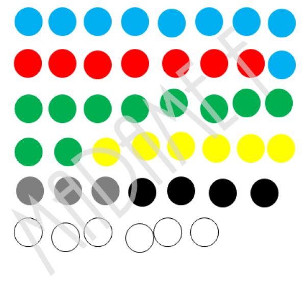 Urne et billes (matériel probabilité)
