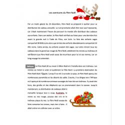 Compréhension de lecture - thème de Noël
